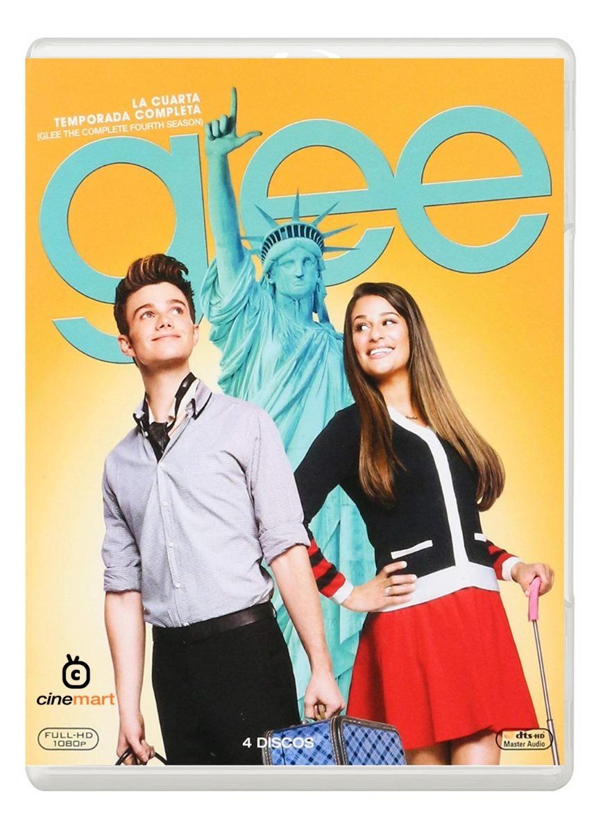 Glee Cuarta Temporada 4 Serie Bluray