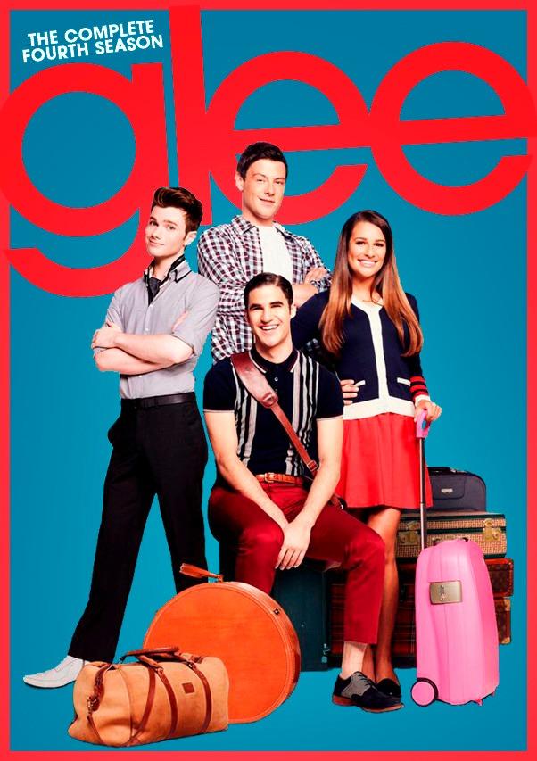 Glee Cuarta Temporada 4ta - $ 310,00 en Mercado Libre