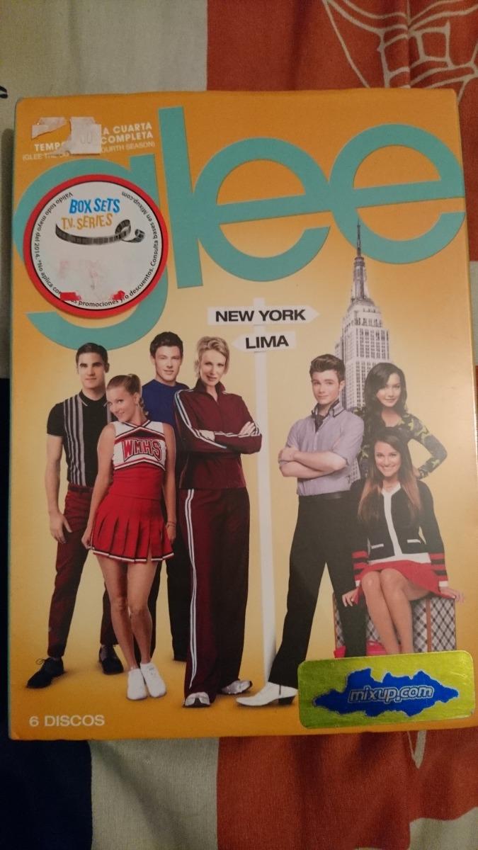 Glee Cuarta Temporada Completa En Dvd - $ 450.00 en Mercado Libre