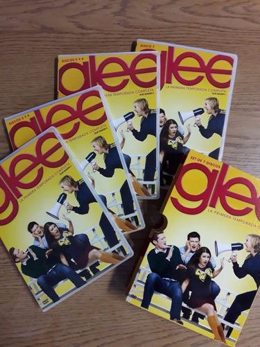 glee dvd original temporadas 1, 2 y 3