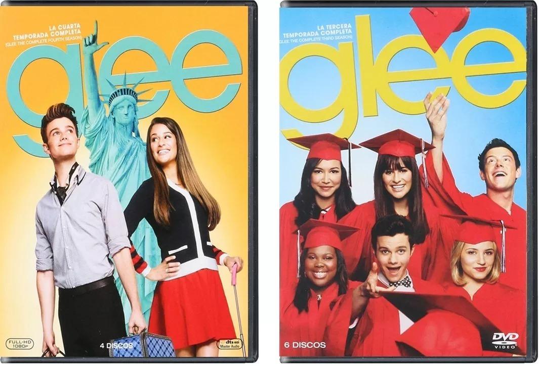 Glee La Serie Completa Temporadas 1 2 3 4 5 6 Paquete Dvd
