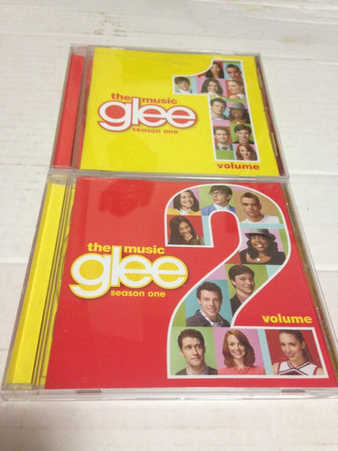 glee serie musical tv soundtrack cd's importados lote