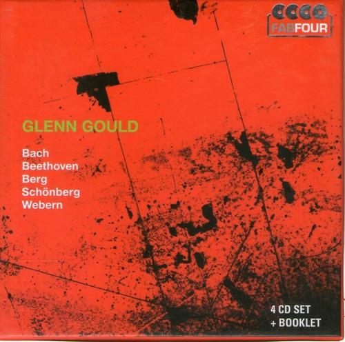 glen gould - bach schonberg webern 4cd -  cd *