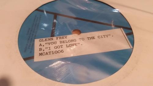 glenn frey you belong to the city vinilo maxi promo raro