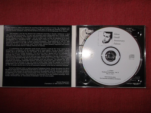 glenn gould bach keybord concertos vol.2 cd usa 2001 mdisk
