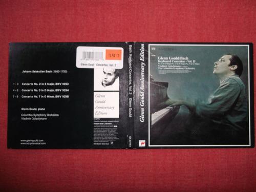 glenn gould bach keybord concertos vol.2 cd usa 2001 mdisk