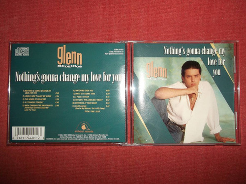 glenn medeiros - nothing's gonna change cd usa ed 1990 mdisk