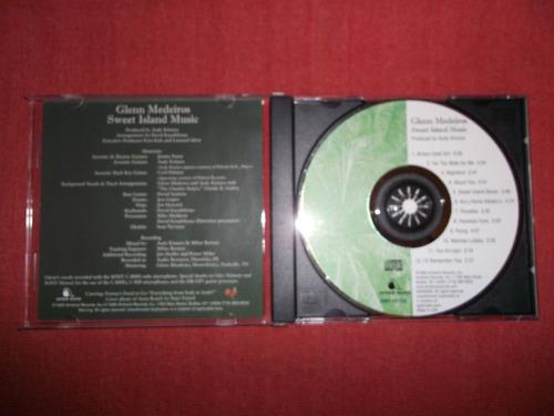 glenn medeiros - sweet island music cd usa ed 1995 mdisk