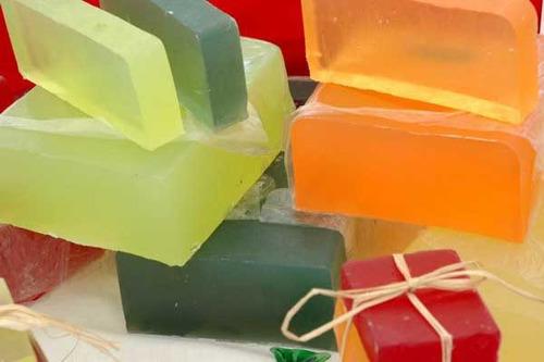 glicerina para hacer jabones