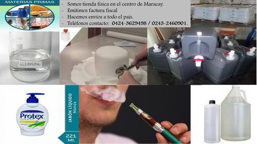 glicerina usp - fondant - vapers - jabones - 100% pura