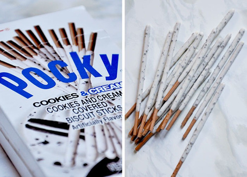 glico pocky cookies and cream tamaño familiar 9pack japones