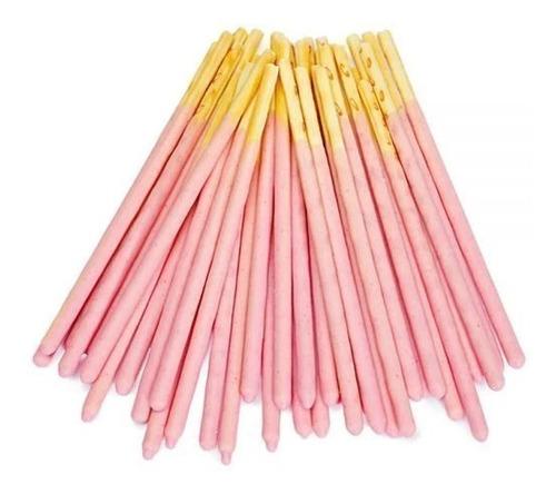 glico pocky de fresa paquete de 9 bolsas