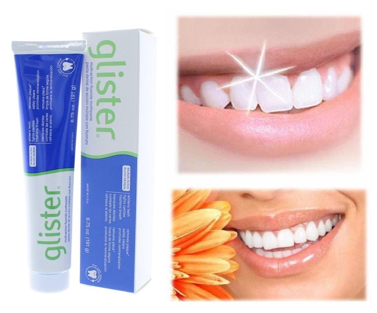Glister Creme Dental 60g Pasta De Dente Amway Oral Clareador R 77