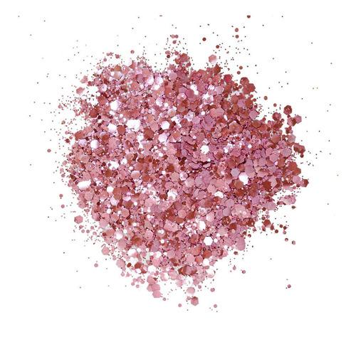 glitter biodegradável pink - be glitter bio