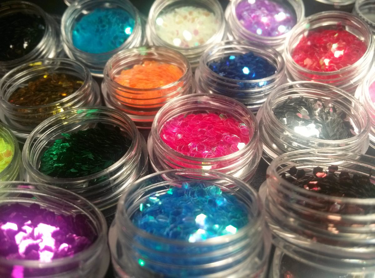 Glitter Cola De Sirena P/uñas Nail Art. Pack X 6 Unidades - $ 99,00 ...