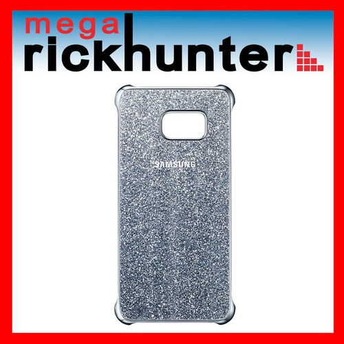 glitter cover galaxy s6 edge plus + 100% plata
