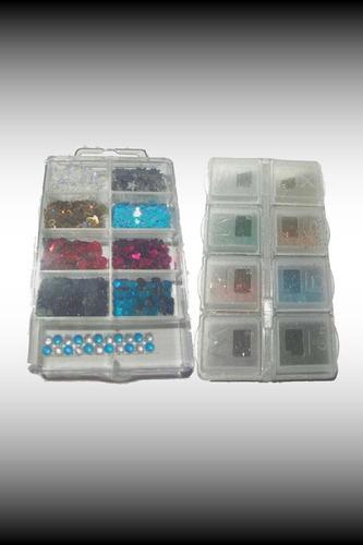 glitter especial para decorado de uñas ( polvo o figuras )