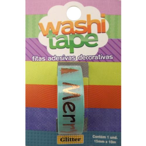 glitter fita adesiva decorativa washi tape glitter pa4563 15