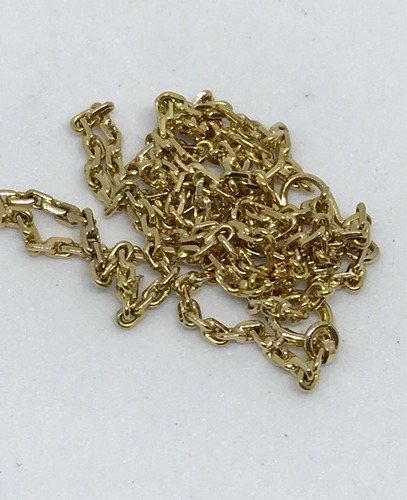 glitter joias - corrente cordão grumet ouro 18k - 5,2 gramas