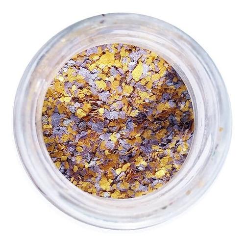glitter natural e biodegradável 1g -  faraônico