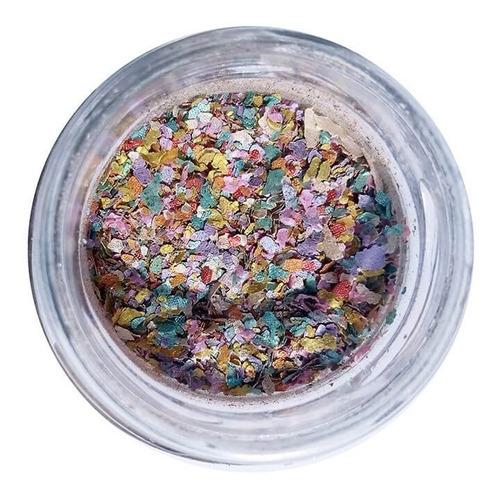 glitter natural e biodegradável 1g -  pura bioglitter pó de unicórnio
