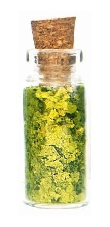 glitter natural e biodegradável 1g -  verdourado