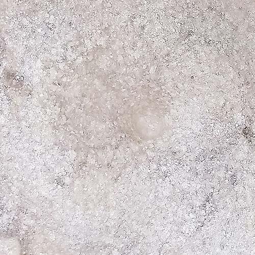 glitter natural e biodegradável em pasta 35ml - pura bioglitter prata
