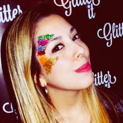 glitter stand, glit.trenzas.fiestas - glitter it