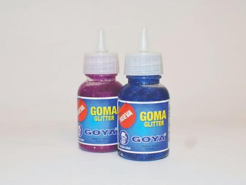 glitter surtido 6 colores 30 ml