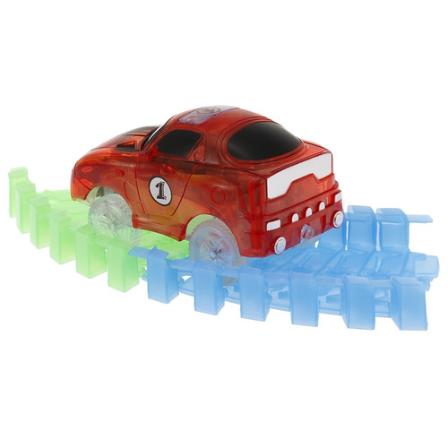 glitter track raza coche para 55 mm tornado pistas neón bri