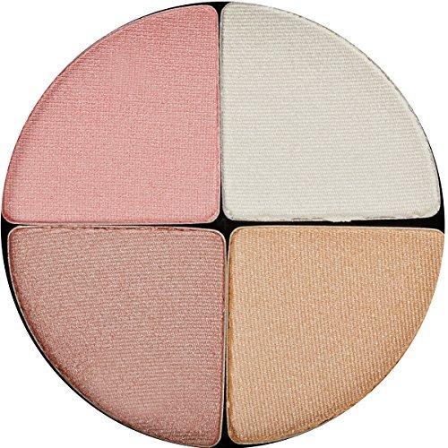 glo skin beauty shimmer brick  gleam  paleta de maquillaje m