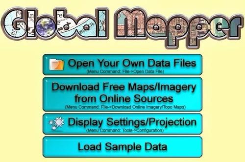 global mapper v16.1