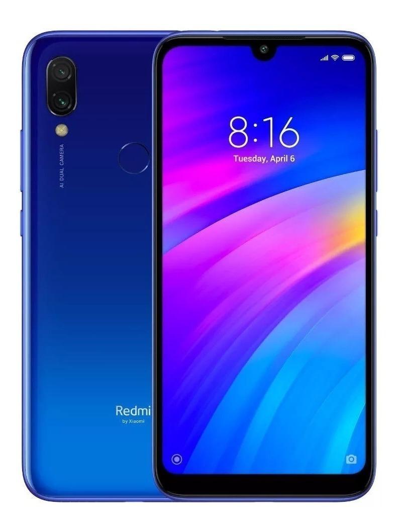 6dc4d81c73b Global Original Celular Xiaomi Redmi 7 32gb + Frete - Azul - R$ 768 ...
