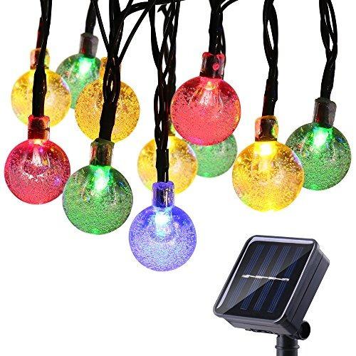 globe solares luces de la secuencia, de 20 pies 30 led impe