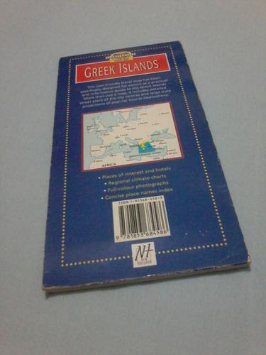 globetroter travel map - mapa ilhas gregas - frete grátis!