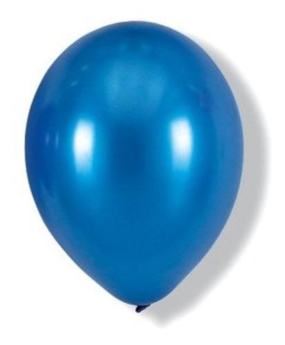 globo 12  standar azul 10 unidades