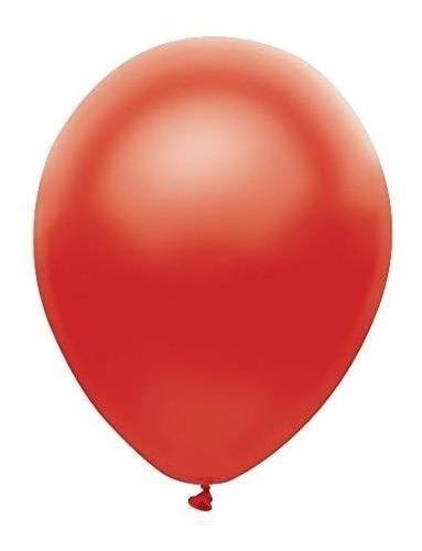 globo 12   standar rojo 10 unidades