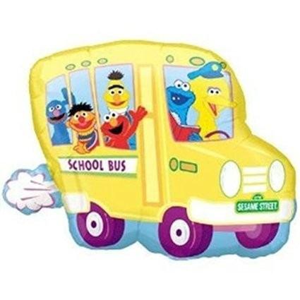 globo autobus sesame street importado 100% calidad