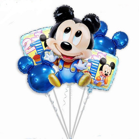 Globo Baby Shower Minnie Mouse Mickey Mouse 5pz