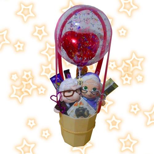 globo burbuja con peluches para aniversario envio bogotá hoy