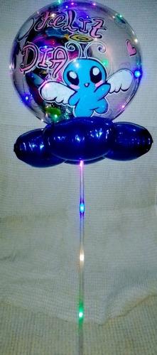 globo burbuja led perzonalizado