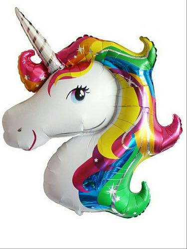 globo cabeza de unicornio 16 x50unid.