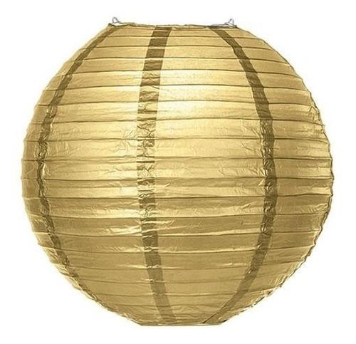 globo chino 20cm dorado o plateado fiesta arlequin hora loca