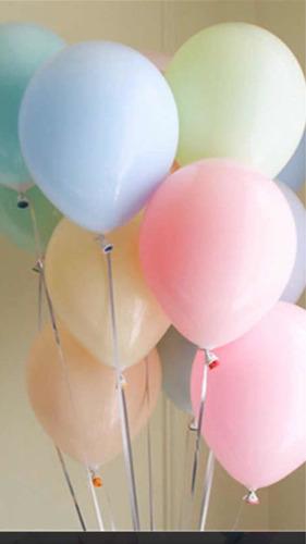 globo con helio colores pasteles !! los mas grandes !!