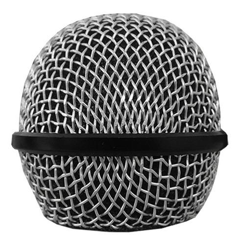 globo cromado para microfone carol mud515-me storm.