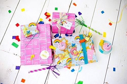 globo de cumpleaños fiestarosa carta junta deseos  papel de