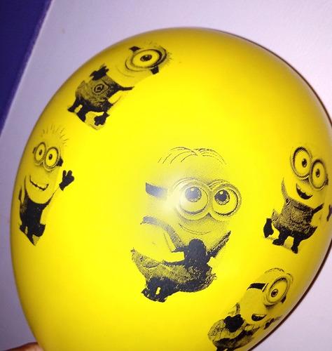 globo de minions -personajes infantiles- mi villano favorito
