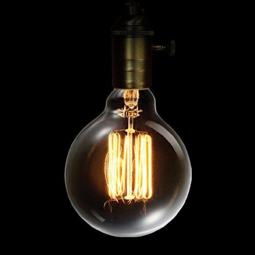 globo eléctrico 60w vintage edison g30 vanidad tungsteno bo