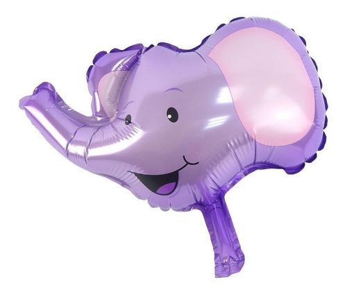 globo elefante metaliz 9 pulgadas animales - ciudad cotillón