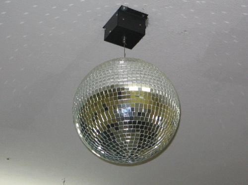 globo espelhado diametro de 30cm e motor